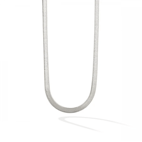 The 5th Avenue Snake Chain Choker-Sliver