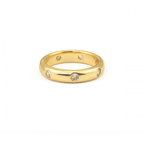 Classic Band Rings-Gold