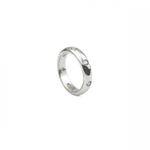 Classic Band Rings-Silver