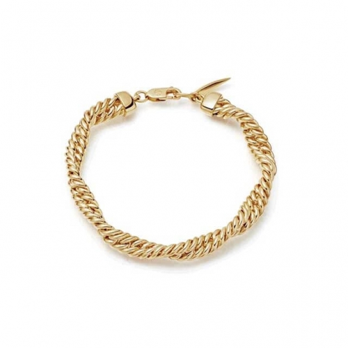 Twisted Double Chain Bracelets